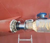 stern tube seal in situ bonding